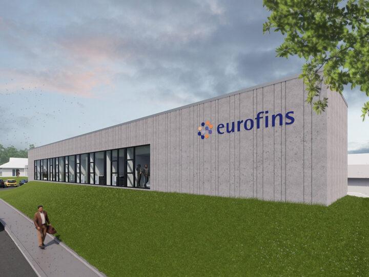 Galten: Laboratorium og kontorlokaler hos Eurofins