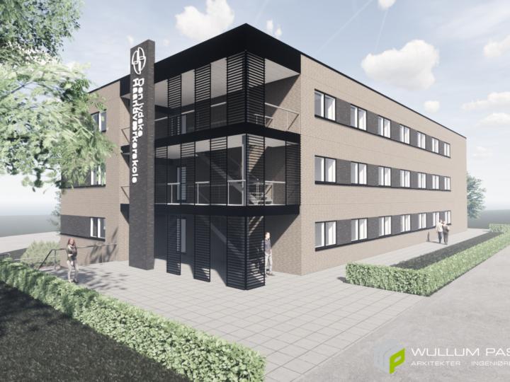Skolehjem til Den jydske Haandværkerskole i Hadsten (totalentreprise)