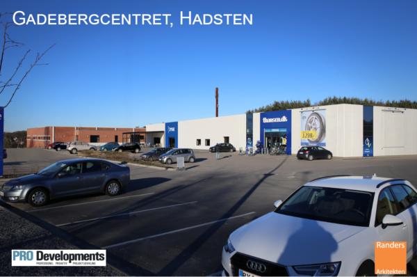 Gadebjergcentret i Hadsten