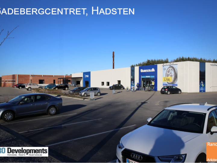 Hadsten: JYSK til Gadebjergcentret for Gadebjerg Invest ApS
